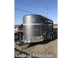 #072759 - 2018 CornPro 14' Stock Trailer