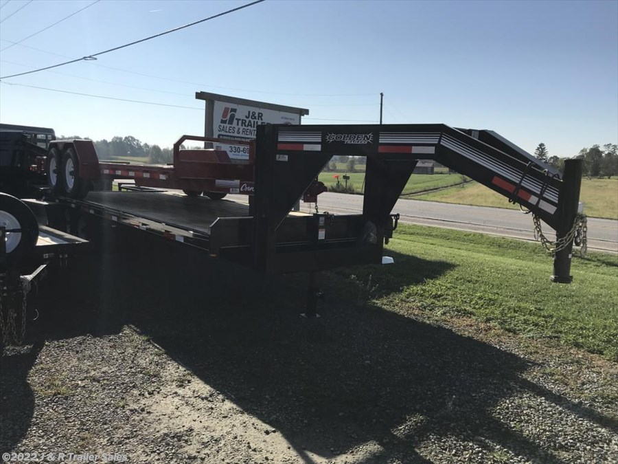 2018 Golden Trailers 20+5 Gooseneck Deckover Trailer