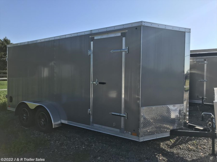 2018 Cross Trailers 7x16 Enclosed