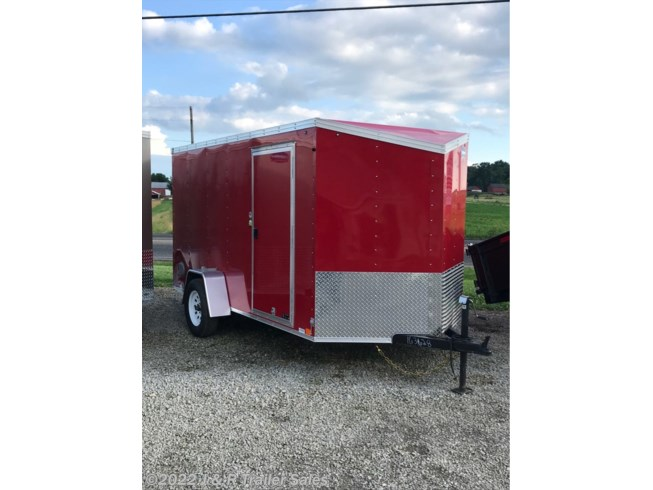 2019 United Trailers XLV 6x12 w/ ramp and slope nose