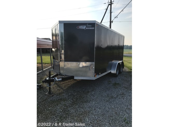 2019 Cross Trailers 7x14 cargo with v-nose and ramp