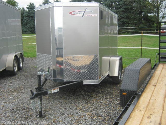 2019 Cross Trailers 5x8 Enclosed Cargo with Double Doors For Rent