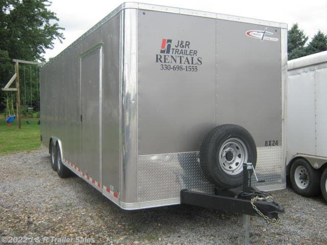 2019 Cross Trailers 8x24 Enclosed Car Hauler For Rent