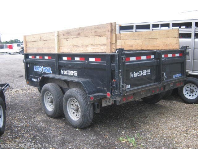 "2017 Load Trail Dump Trailers 81""x12' 14k For Rent"