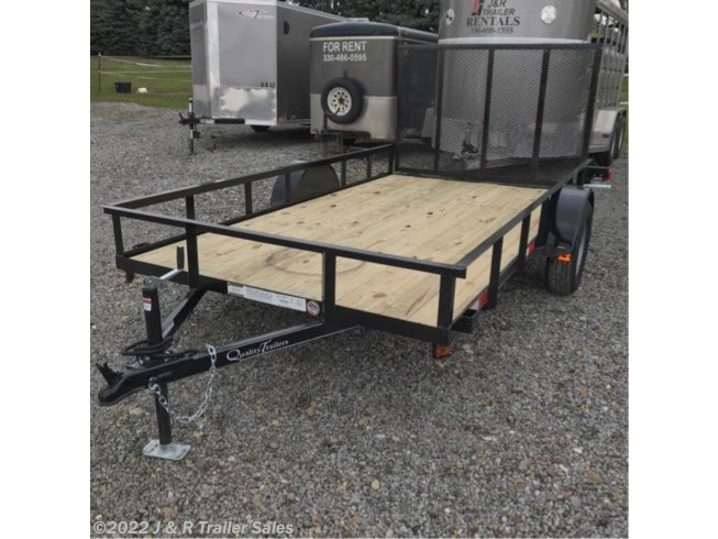 2019 Quality Trailers 6x12 Utility Trailer FOR RENT