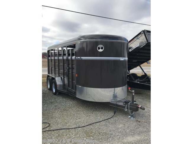 2019 CornPro 16' Stock Trailer