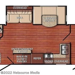 2017 Gulf Stream Conquest 276BHS floorplan image