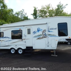 2005 Forest River Wildcat  - Fifth Wheel Used  in Whitesboro NY For Sale by Boulevard Trailers, Inc. call 315-736-5851 today for more info.