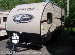 New 2016  Forest River Wolf Pup 17CJ by Forest River from Boulevard Trailers, Inc. in Whitesboro, NY