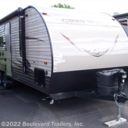 New 2016 Forest River Cherokee Grey Wolf 23BD For Sale by Boulevard Trailers, Inc. available in Whitesboro, New York