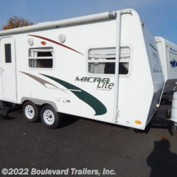 2009 Forest River Flagstaff Micro Lite 18FBR  - Travel Trailer Used  in Whitesboro NY For Sale by Boulevard Trailers, Inc. call 315-736-5851 today for more info.