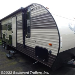 2017 Forest River Cherokee Grey Wolf 29BH  - Travel Trailer New  in Whitesboro NY For Sale by Boulevard Trailers, Inc. call 315-736-5851 today for more info.