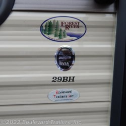 Boulevard Trailers, Inc. 2017 Cherokee Grey Wolf 29BH  Travel Trailer by Forest River | Whitesboro, New York