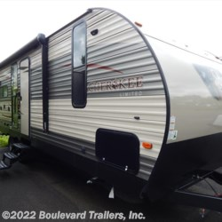2017 Forest River Cherokee 244JR  - Travel Trailer New  in Whitesboro NY For Sale by Boulevard Trailers, Inc. call 315-736-5851 today for more info.