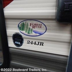 Boulevard Trailers, Inc. 2017 Cherokee 244JR  Travel Trailer by Forest River | Whitesboro, New York