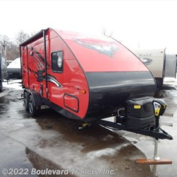 2018 Travel Lite Falcon F-23RB  - Travel Trailer New  in Whitesboro NY For Sale by Boulevard Trailers, Inc. call 315-217-5542 today for more info.