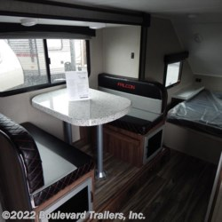 Boulevard Trailers, Inc. 2018 Falcon F-23RB  Travel Trailer by Travel Lite | Whitesboro, New York