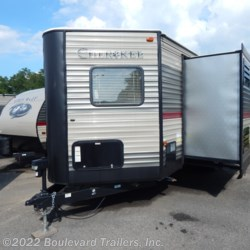 2018 Forest River Cherokee 234VFK  - Travel Trailer New  in Whitesboro NY For Sale by Boulevard Trailers, Inc. call 315-217-5542 today for more info.