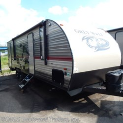 2019 Forest River Grey Wolf 26DBH  - Travel Trailer New  in Whitesboro NY For Sale by Boulevard Trailers, Inc. call 315-217-5542 today for more info.