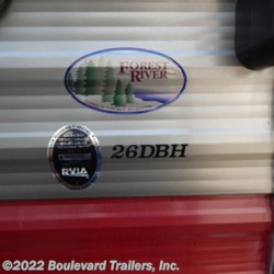 Boulevard Trailers, Inc. 2019 Grey Wolf 26DBH  Travel Trailer by Forest River | Whitesboro, New York