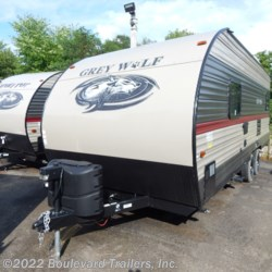 New 2020 Forest River Grey Wolf 20RDSE For Sale by Boulevard Trailers, Inc. available in Whitesboro, New York