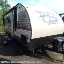 2018 Forest River Grey Wolf 20RDSE  - Travel Trailer New  in Whitesboro NY For Sale by Boulevard Trailers, Inc. call 315-217-5542 today for more info.