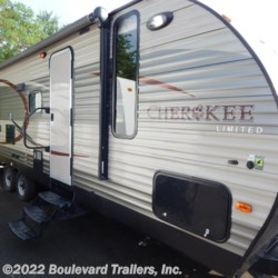 2015 Forest River Cherokee 274DBH  - Travel Trailer Used  in Whitesboro NY For Sale by Boulevard Trailers, Inc. call 315-217-5542 today for more info.
