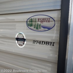 Boulevard Trailers, Inc. 2015 Cherokee 274DBH  Travel Trailer by Forest River | Whitesboro, New York
