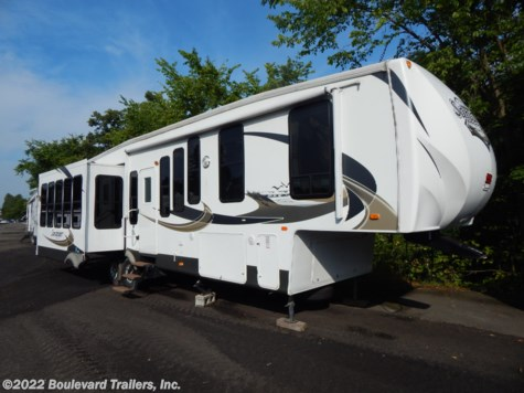 Used 2011 Forest River Sandpiper 345RET For Sale by Boulevard Trailers, Inc. available in Whitesboro, New York