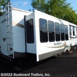 Boulevard Trailers, Inc. 2011 Sandpiper 345RET  Fifth Wheel by Forest River | Whitesboro, New York