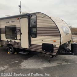 New 2017 Forest River Wolf Pup 16FQ For Sale by Boulevard Trailers, Inc. available in Whitesboro, New York