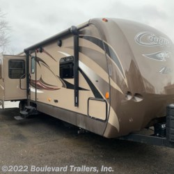 2016 Keystone Cougar XLite 30RLI  - Travel Trailer Used  in Whitesboro NY For Sale by Boulevard Trailers, Inc. call 315-217-5542 today for more info.
