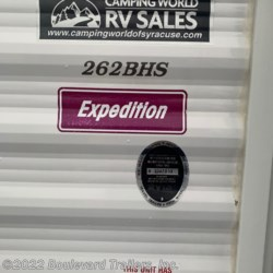2013 Coleman Expedition CTS262BH  - Travel Trailer Used  in Whitesboro NY For Sale by Boulevard Trailers, Inc. call 315-217-5542 today for more info.