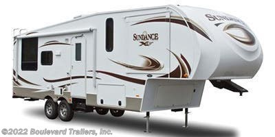 Stock Image for 2014 Heartland Sundance XLT SD XLT 245RL (options and colors may vary)