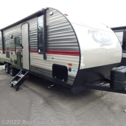 New 2019 Forest River Grey Wolf 26DBH For Sale by Boulevard Trailers, Inc. available in Whitesboro, New York