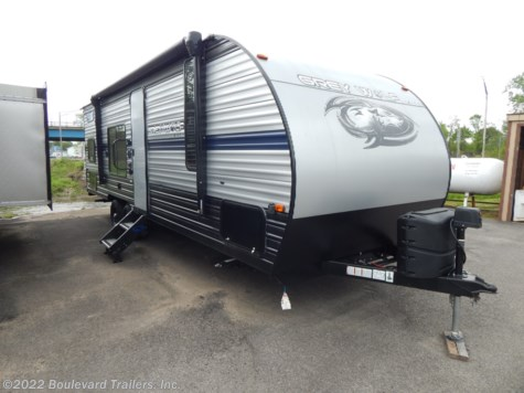 New 2019 Forest River Cherokee Grey Wolf 26DJSE For Sale by Boulevard Trailers, Inc. available in Whitesboro, New York