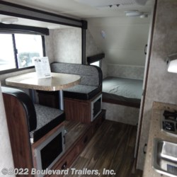2018 Travel Lite Falcon 24BH  - Travel Trailer New  in Whitesboro NY For Sale by Boulevard Trailers, Inc. call 315-217-5542 today for more info.