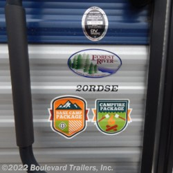 2019 Forest River Cherokee Grey Wolf 20RDSE  - Travel Trailer New  in Whitesboro NY For Sale by Boulevard Trailers, Inc. call 315-217-5542 today for more info.