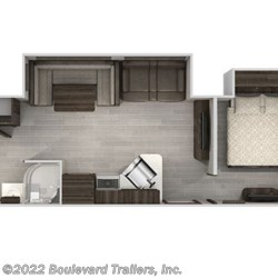 2020 Forest River Cherokee 324TS floorplan image