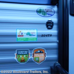 2020 Forest River Cherokee 324TS  - Travel Trailer New  in Whitesboro NY For Sale by Boulevard Trailers, Inc. call 315-217-5542 today for more info.