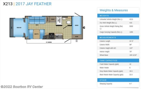 2017 Jayco Jay Feather  X213