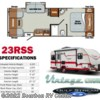 2017 Gulf Stream Vintage Cruiser 23RSS  - Travel Trailer New  in Bourbon MO For Sale by Bourbon RV Center call 800-343-5795 today for more info.