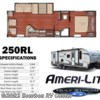 2017 Gulf Stream Ameri-Lite 250RL  - Travel Trailer New  in Bourbon MO For Sale by Bourbon RV Center call 800-343-5795 today for more info.