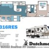 2017 Dutchmen Denali 316 RES (by Keystone RV)  - Fifth Wheel New  in Bourbon MO For Sale by Bourbon RV Center call 800-343-5795 today for more info.