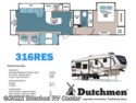 2017 Dutchmen Denali 316 RES (by Keystone RV) - New Fifth Wheel For Sale by Bourbon RV Center in Bourbon, Missouri
