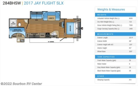 2018 Jayco Jay Flight SLX  284BHSW