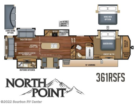 2018 Jayco North Point  361RSFS