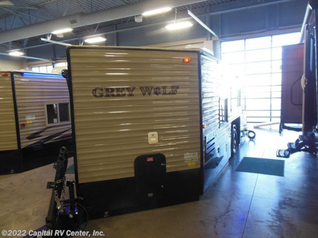 2016 forest river rv grey wolf 17mp for sale in minot nd for Grey wolf fish house