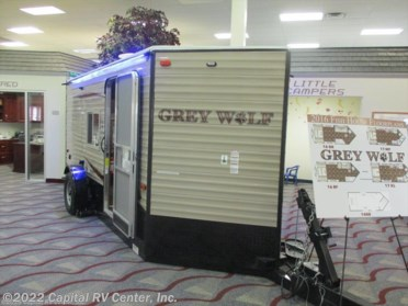 2016 Forest River Grey Wolf 14NB
