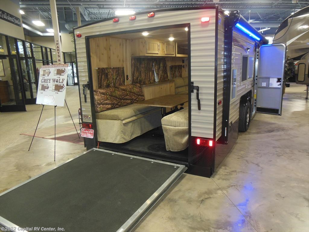 2016 forest river rv grey wolf 17kl for sale in minot nd for Grey wolf fish house
